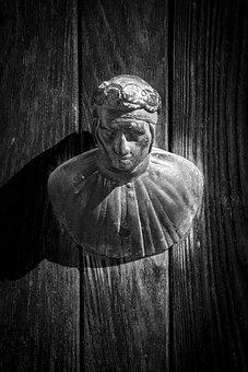 Door Knocker, Venice, Old, Metal, Traditional, Ornament