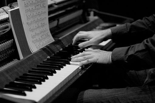 Piano, Piano Player, Keys, Music, Instrument