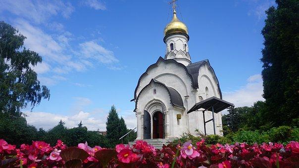 Mosque, Flower, Church, Floral, Design, Pattern