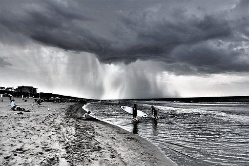 Thunderstorm, Clouds, Storm Clouds, Rain, Storm