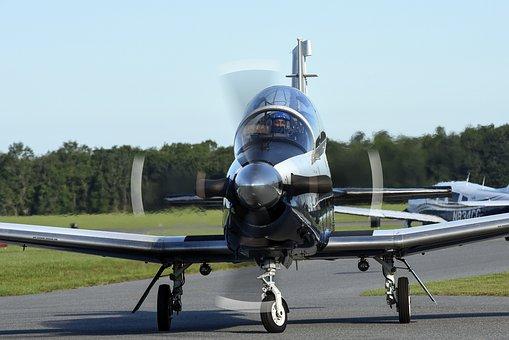 T-6a Texan Ii, Air Force, Training, Aviation, Aircraft
