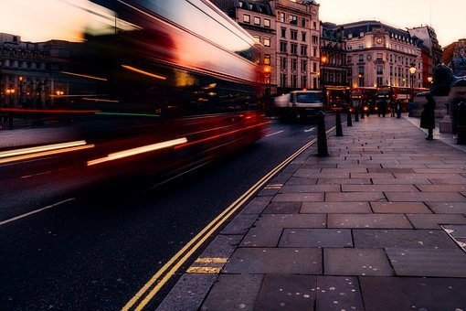 Trafalgar Square, London, England, City, Urban