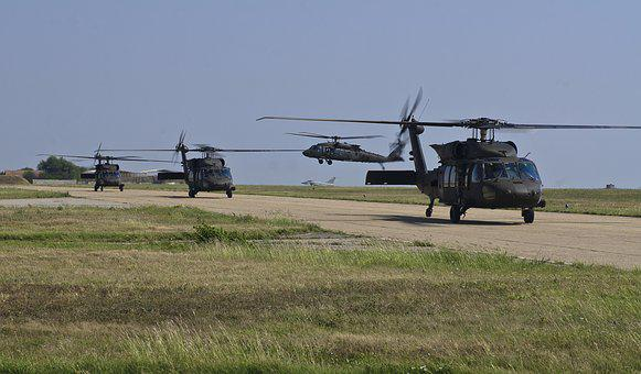 Uh-60 Blackhawks, Army, Aviation, Us Army