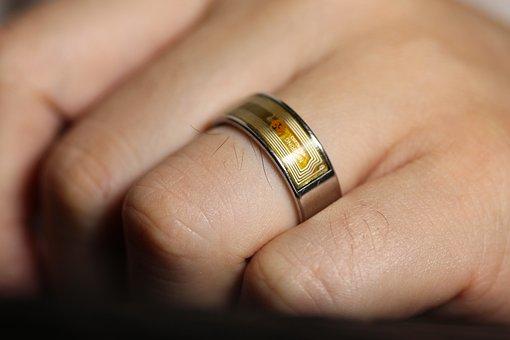 Smart Ring, Ring, Wedding Ring, Technology, Mobile