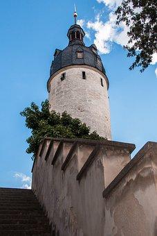 Altenburg, Road, Downtown, Old Town, City, Stones