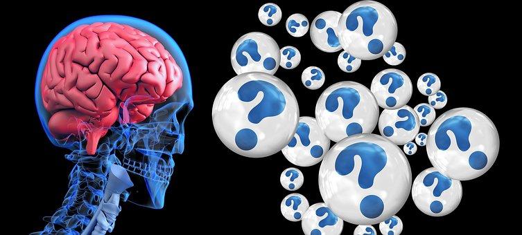 Brain, Question Mark, Alzheimer's, Dementia, Robot