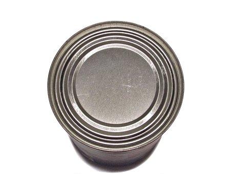 Tin, Can, Metal, Container, Metallic, Aluminum, Lid