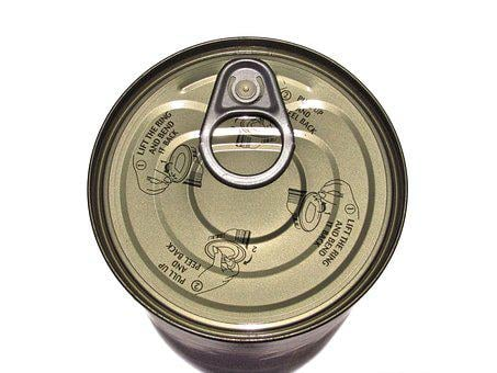 Tin, Can, Metal, Canned, Container, Tinned, Metallic