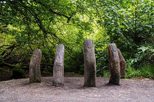 Finger, Sculpture, Hand, Art, Artwork, Nature, Wood