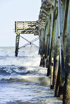 Beach, Ocean, Sea, Water, Blue, Green, Splash, Wave