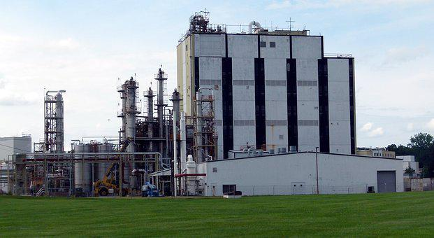 Grain Factory, Industry, Industrial, Production, Plant