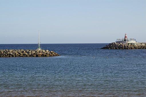Gran Canaria, Puerto De Mogan, Booked, Sea, Spain, Port
