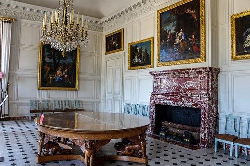 Window, House, France, Chair, Seat, Castle, Sofa