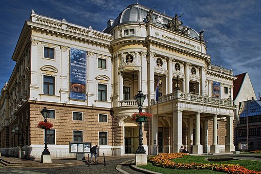 Bratislava, Slovakia, The Capital City Of