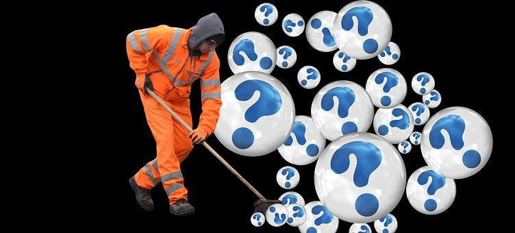 Question Mark, Street Sweeper, Street Cleaning