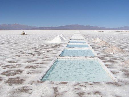 Argentina, Lake, Salted