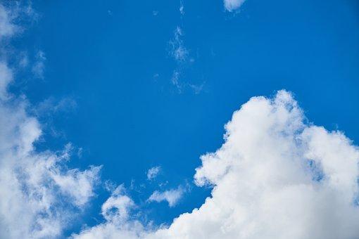 Cloud, Blue, Background, Composition, Space, Clouds