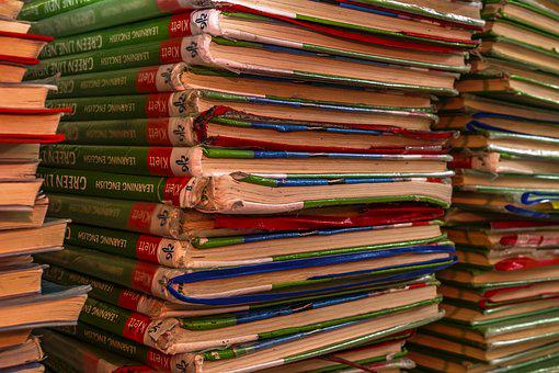 English, Books, Book Stack, Books Pile, Know, Read