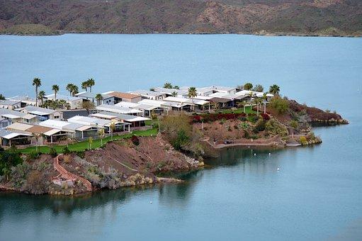 Vacation, Homes, Colorado River, Lake Havasu, Arizona