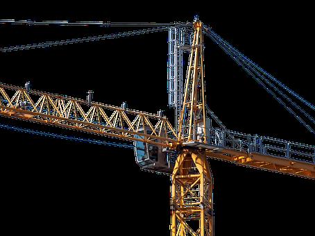 Crane, Baukran, Boom, Technology, Construction