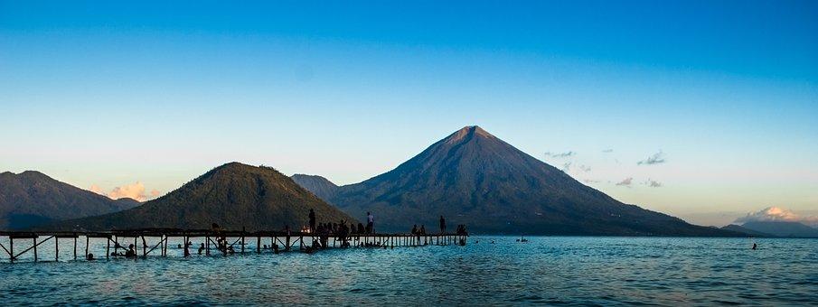 Kie Matubu Mountin, Landscape, Tidore, East Indonesia