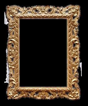 Frame, Ornate, Gold, Picture, Ornate Frame, Elegance