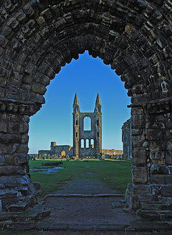 St Andrews, Golf, Scotland, Fife, Sky, Landscape, Uk