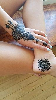 Henna Tattoos, Body Art, Mehendi, Henna, Tattoo, Design