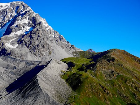 Mountain, Hut, Alm, Alpine, Mountain Landscape