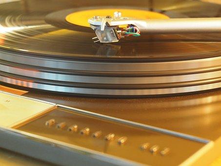 Turntable, Vinyl, Analog, Hifi, Record, Music, Needle