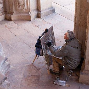 Painter, Art, Paint, Painting, Brush, Color, Colorful