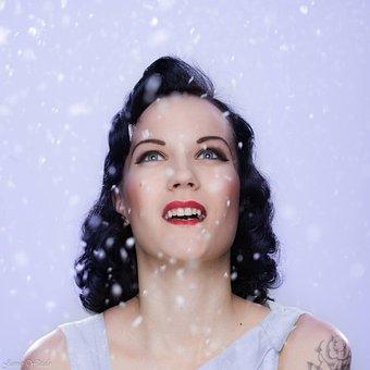Snow, White, Pin-up, Kisskissforbidn