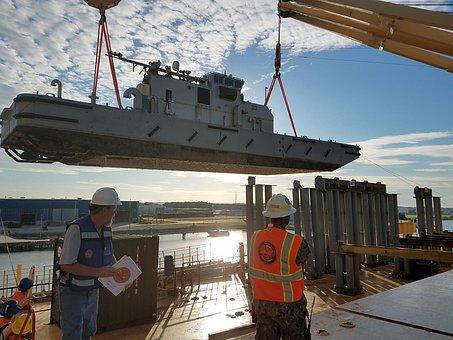Loading Operation, Boat, Usn, United States Navy, Ship