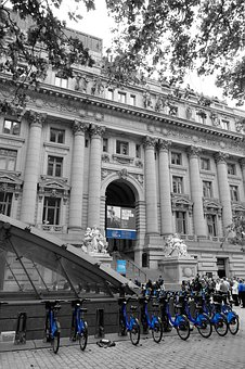 New York, Bicycles, The Museum, Manhattan, Architecture