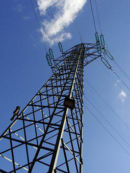 Power Line, Electrical Tower, Tower, Power Lines