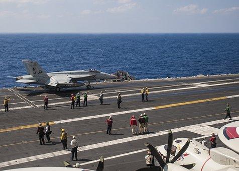F A-18 Hornet, Take Off, Usn, United States Navy