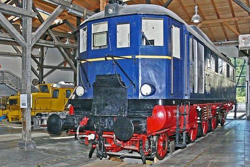 Technical Monument, Diesel Locomotive, V 140 001, V140