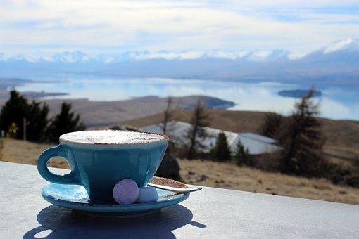 Outlook, Hot Drink, Cocoa, Landscape, Morning