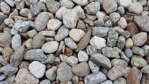 Gravel, Stone, Background, Uniform