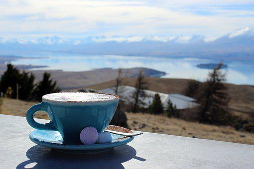Outlook, Hot Drink, Cocoa, Landscape, Morning