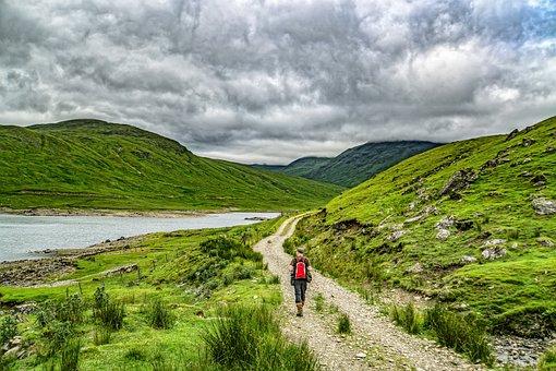 Hillwalker, Hills, Scottish, Landscape, Hillwalking