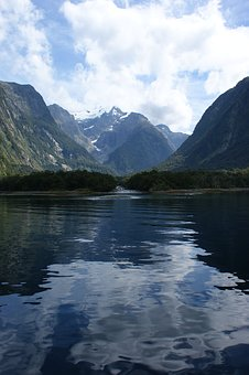 Milford Sound, New Zealand, Reflections