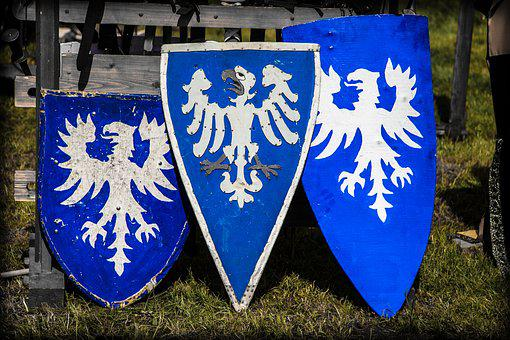 Shield, Coat Of Arms, Emblem, Middle Ages, Fight