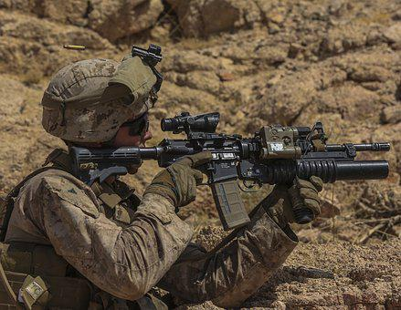 M4a1 Carbine, Soldier, Us Army, United States Army