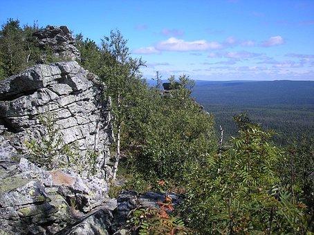 Mountains, Rocks, Sky, Landscape, Height, View, Dahl