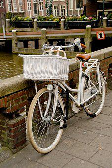 Amsterdam, Bike, Netherlands, Holland, Europe, Dutch