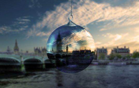 Christmas, London, Christmas Ornament, Flora, Kringel