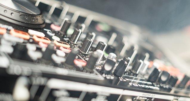 Dj, Desk, Mixer, Disco, Technical Device, Sound Mixer