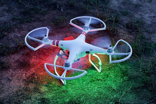 Drone, Dji, Phantom, Quadcopter, Copter, Field