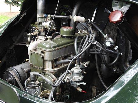 Motor, Auto, Pkw, Vehicle, Engine Compartment